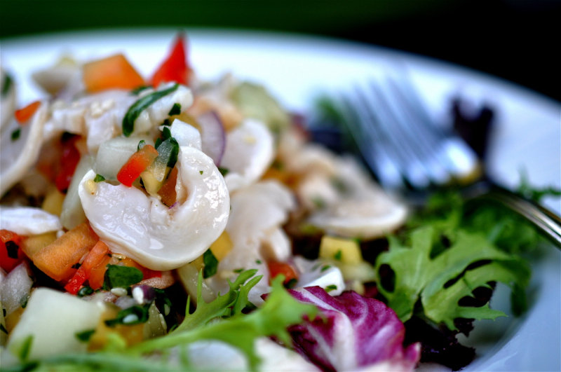 Geoduck Clam Ceviche