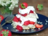 Strawberry Shortcake with Elderflower Whipped Cream
