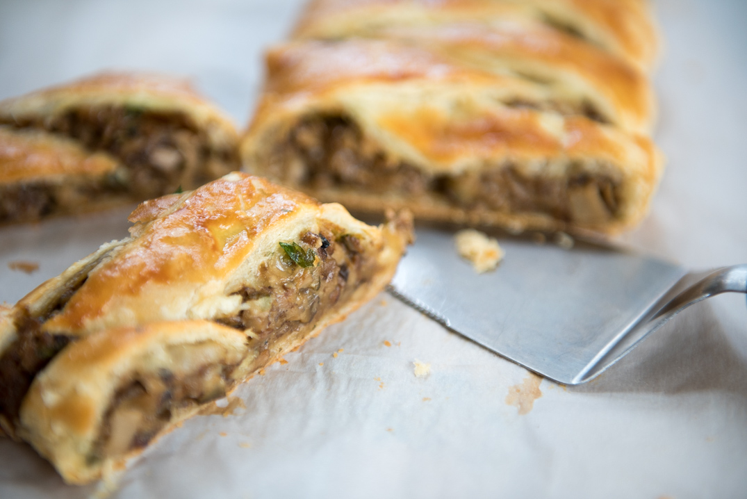 ... of a Wild Mushroom Strudel and immediately vowed to make it at home